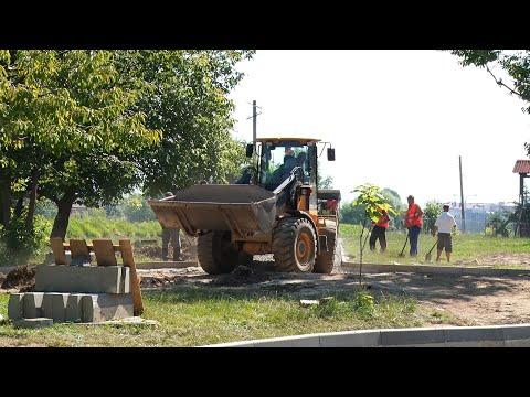 Парк-сквер на Першотравневій набережній: у Мукачеві реалізують нові проекти
