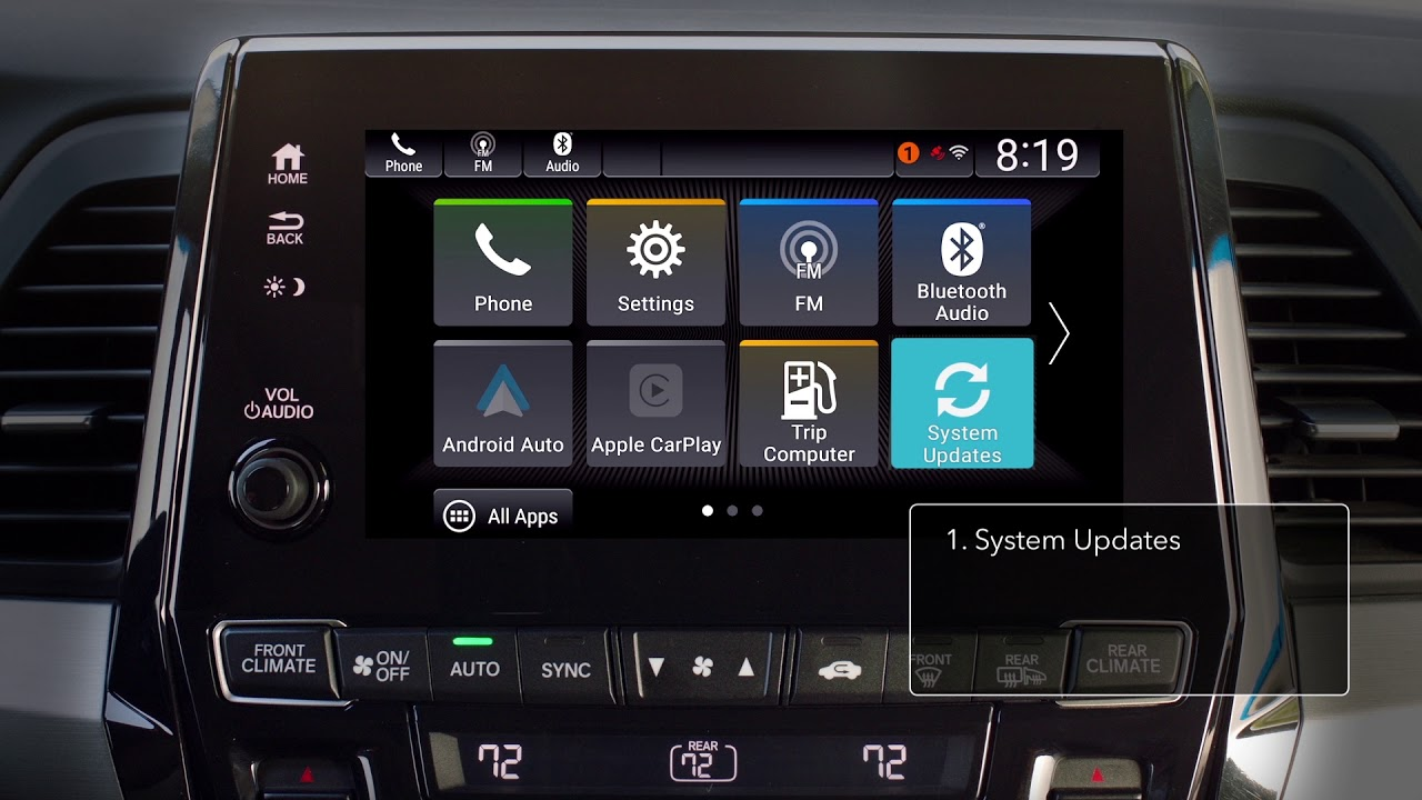 2018 Honda Odyssey How To Update Display Audio Wirelessly