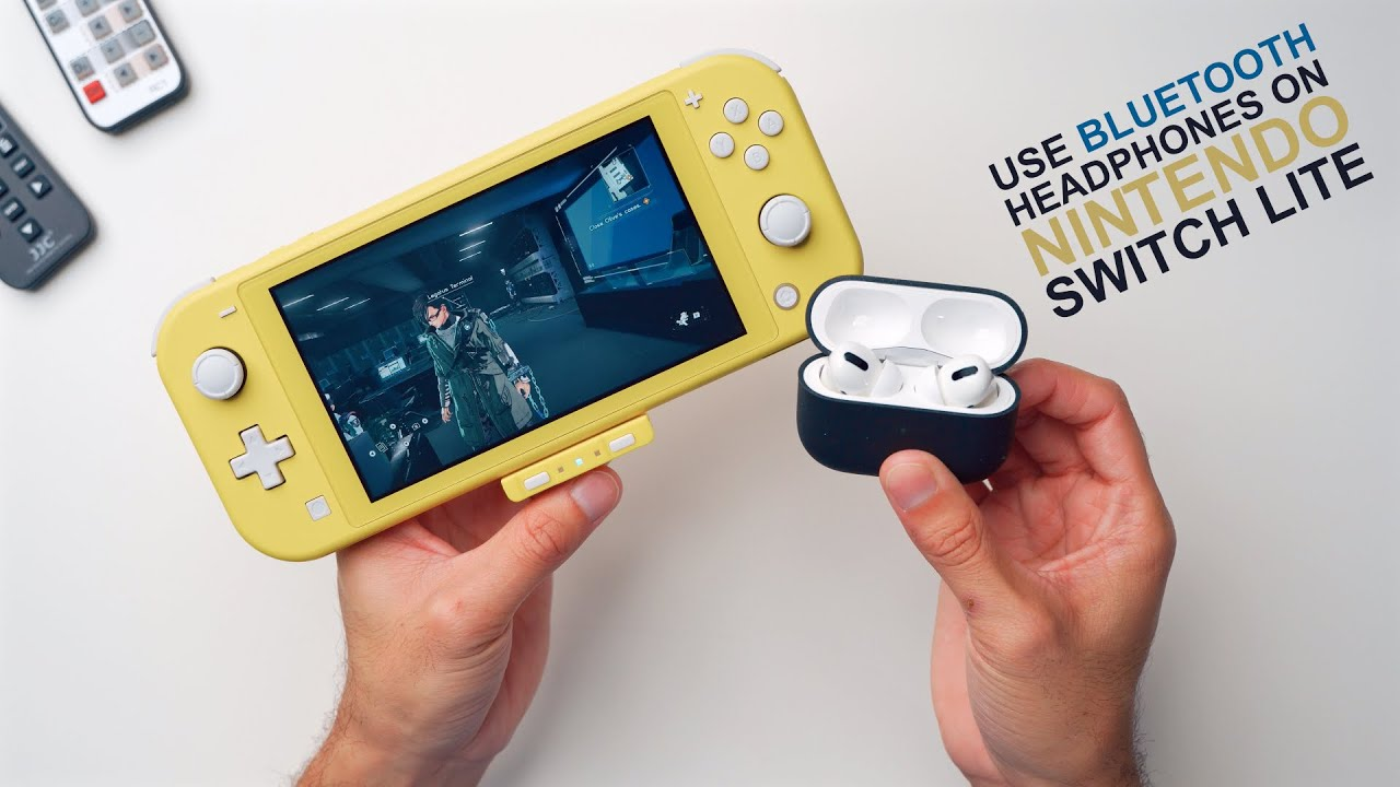 How To Use Bluetooth Headphones On Your Nintendo Switch Lite Homespot Bluetooth Adapter Review Youtube