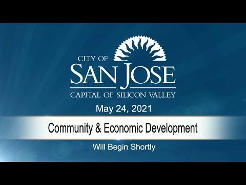 MAY 24, 2021 | Community & Economic Development Committee