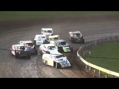 39th Yankee Classic Modified B-Main 2 Farley Speedway 9/3/16