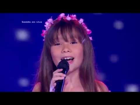 María Alejandra cantó Je Vole de M. Sardou y P. Billon - LVK Col - Audiciones a ciegas - Cap 5 – T2