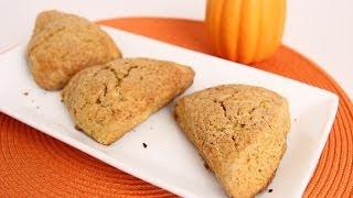 Pumpkin Scones Recipe - Laura Vitale - Laura In The Kitchen Episode 661