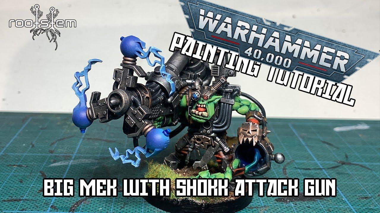 Big Mek with Shokk Attack Gun - Painting Tutorial