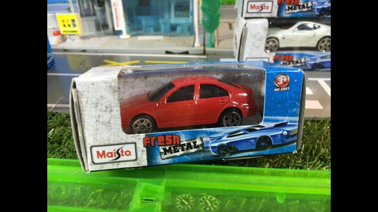 Coche De Juguete Unboxing Maisto Die Cast Model Car Vw Jetta 02476