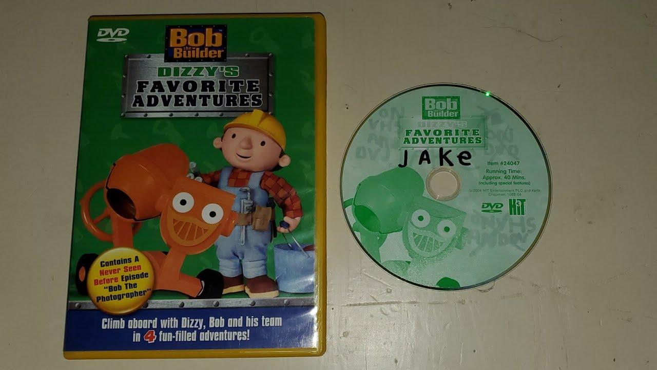 Bob The Builder Dvd Trailer Travis Dvd: Opening To Bob The Builder Dizzy's Favorite Adventures