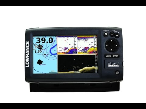 Lowrance elite 7 chirp overview part i youtube for Kayak fish finder install