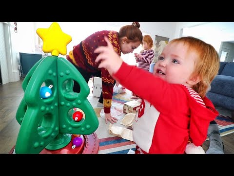 Our FAMiLY CHRISTMAS TREE!! Niko Learns To Decorate Ornaments And Adley Makes Magic Holiday Potion!