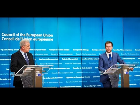 Press conference opening remarks by Commissioner Dimitris AVRAMOPOULOS, JHA 10/3/2016