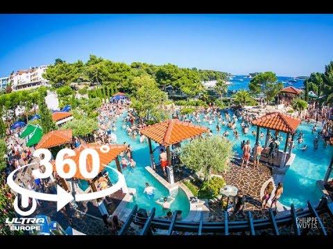 ROBIN SCHULZ—ULTRA BEACH 2016 — HVAR | 360º VR | Pointers Travel