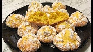 Лимонное Печенье /  Lemon Cookies / Печенье с Лимоном / Очень Простое Печенье (Быстро и Вкусно)