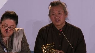 Korean morality tale wins Venice film festival