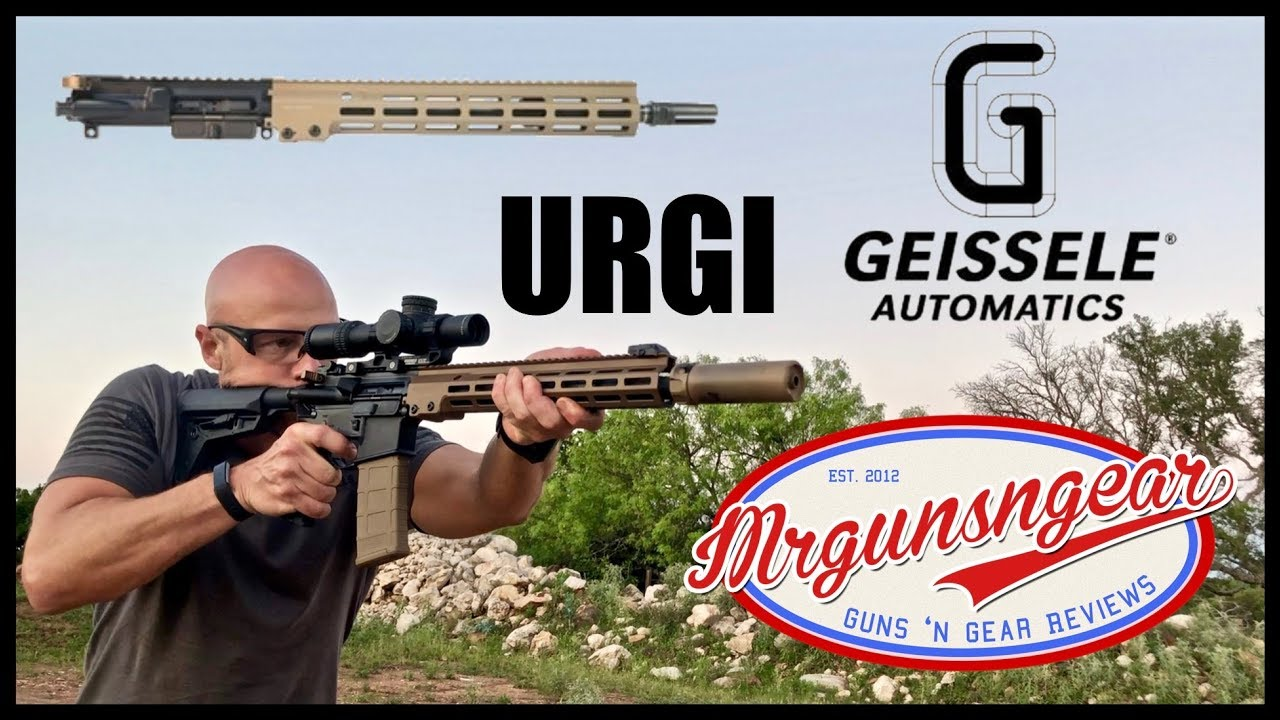 Geissele URG-I USASOC Special Operations Rifle First Shots