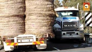 Close calls and Random Rigs - Roadtrains of Australia Ozoutback truckers