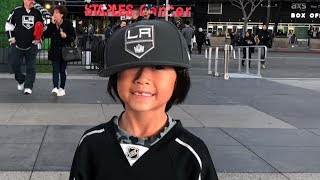 Celebrating Anthony's 9th Birthday at Staples Center | Kings vs Oilers (02-24-2018)