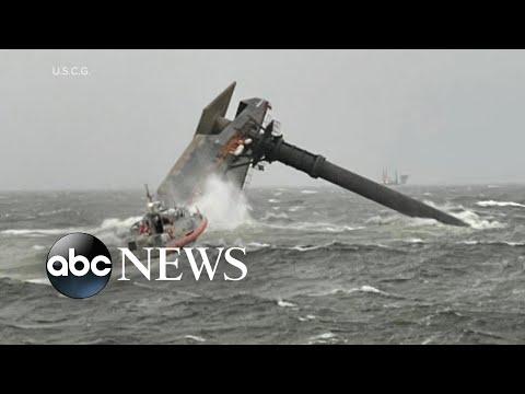 Desperate search for capsized vessel off Louisiana coast   WNT