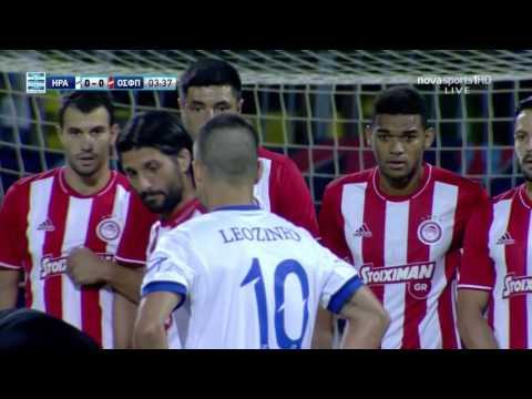 Iraklis olympiakos 2016-2017 super league (full match)