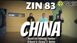 ZUMBA CHINA ZIN 83 BY ANUEL AA ft DADDY YANKEE & KAROL G, OZUNA, J. BALVIN WITH ZIN NURUL N ZSISTERS