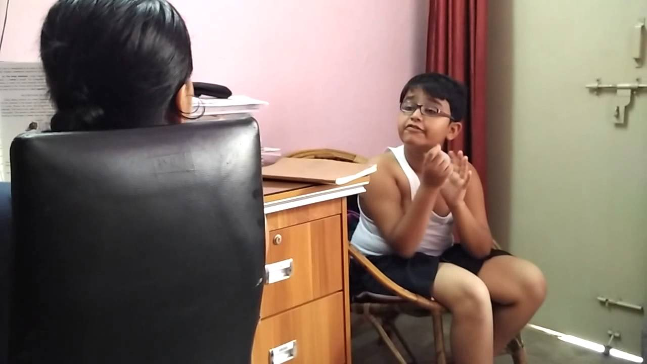 elder sister taking test of younger brother - youtube