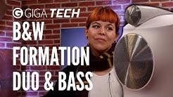 Die besten Lautsprecher, die du dir nie kaufen wirst: B&W Formation Duo