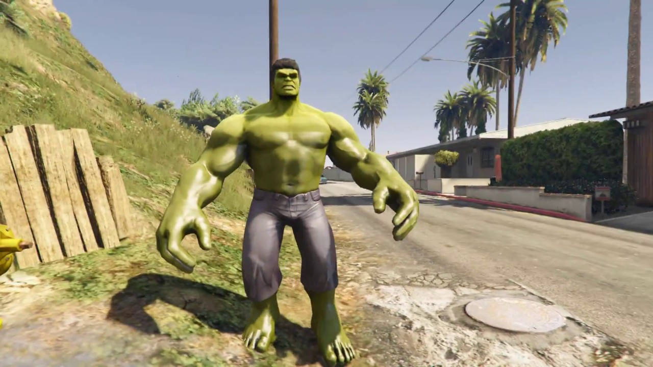 How To Get Hulk Mod On Gta 5 Ps3