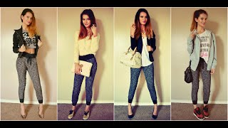 How to Style Jogger Pants | Fashion Lookbook 2014