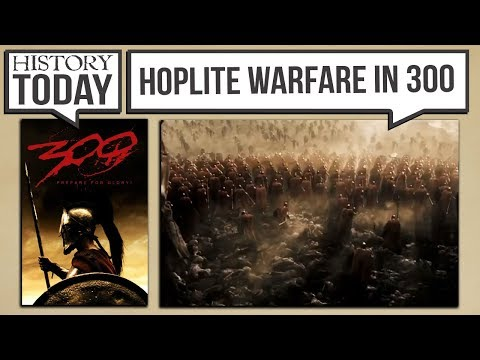 History Today - How Accurate is Hoplite Warfare in the Movie 300?