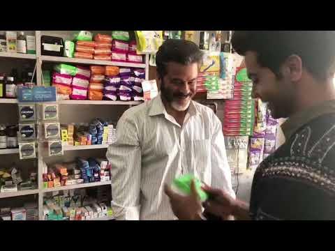Padman - Sanitary Pad Publicity Anil Kapoor and Rajkumar Rao in Chemist Shop