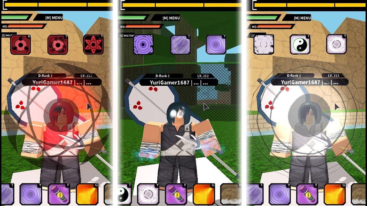 Naruto RPG Beyond:   All Kekkei Genkai Showcase   Mangekyou Sharingan