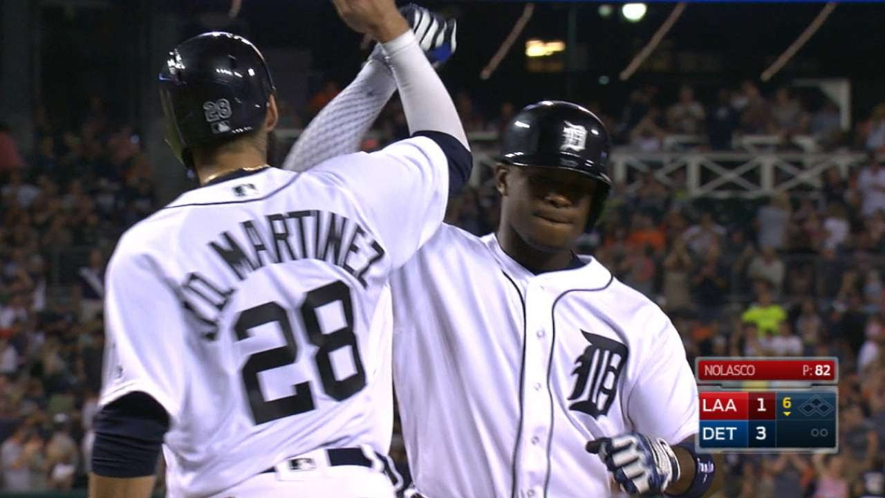 Verlander's pitching, Upton's slam lead Tigers past Astros