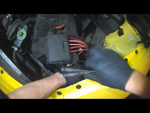 VW A4: New Beetle - vehicle speed sensor (G68) no signal