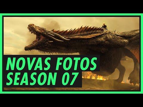 NOVAS FOTOS DE GAME OF THRONES | LIVE - SÉTIMA TEMPORADA | MAIO DAS GALÁXIAS