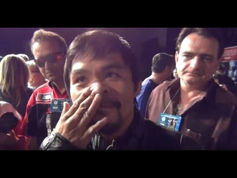 "PACQUIAO ADMITS HE NEVER HEARD OF JEFF HORN.. ""I DON"