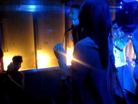 "2 Chainz feat Kanye West ""Birthday Song""... Tony B + Chelsea @HipHopKaraoke"
