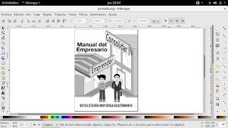 Inkscape | portada libro manual del empresario