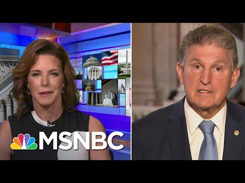 Sen. Manchin Urges GOP To Speak Out To Voters: 'They Want You To Speak The Truth' | MSNBC