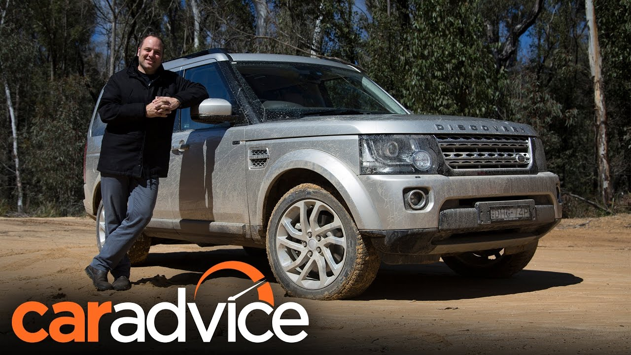 2016 land rover discovery 4 off road review caradvice youtube. Black Bedroom Furniture Sets. Home Design Ideas