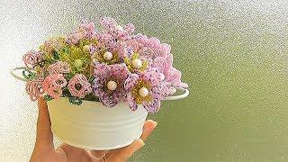 видео Цветы из бисера
