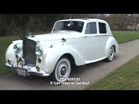 1954 Bentley R Type Sedan Vintage Wedding Rental Cars