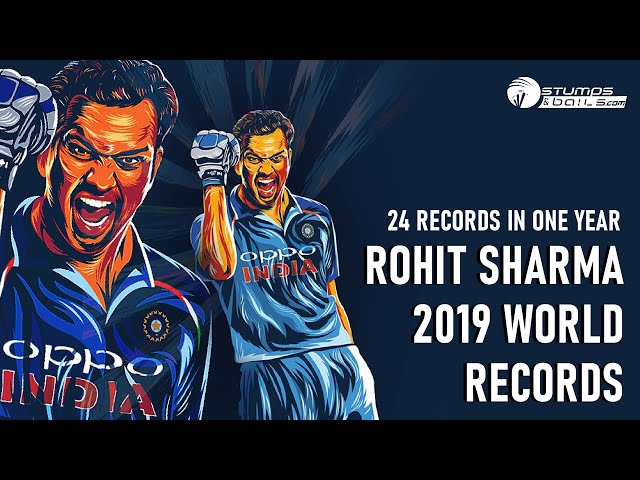 #RohitSharma Records In International Cricket 2019  || Stumpsandbails