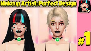 Makeup Artist: Perfect Design Game 💄👸 - Become a fashion stylist now! 💄👸 Gameplay Review Ios/Andriod screenshot 1