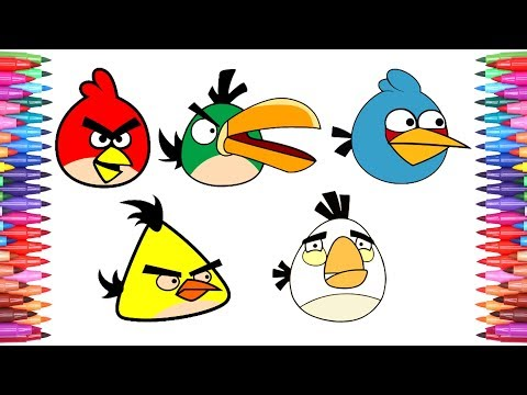 how to draw angry birds tagged videos on TrendyVids