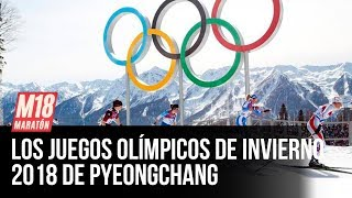 Los Juegos Olímpicos de Invierno 2018 en Maratón 2018 (2 de 2)
