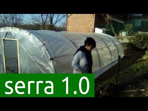 video 1 auto-costruzione serra tunnel con polietilene, costi contenuti, diy greenhouse  versione 1.0