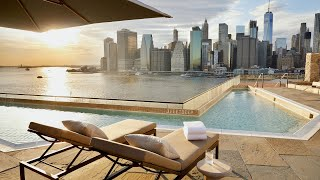1 Hotel Brooklyn Bridge, New York City: full tour (rooftop with million dollar view)