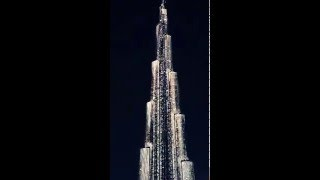 Burj Khalifa Led Lights show