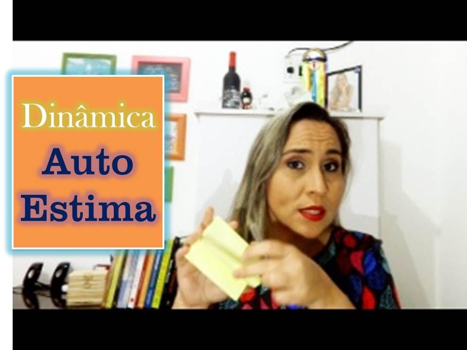 Dinâmica De Auto Estima Nas Costas Renata Melo