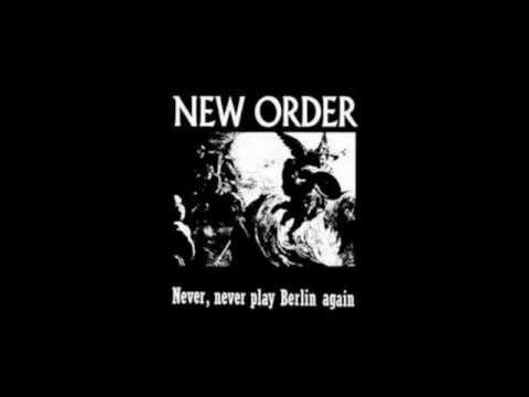New Order - Never, Never Play Berlin Again Full Set (1984)
