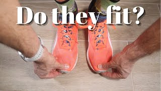 HOW SHOULD RUNNING SHOES FIT? A step-by-step guide to correctly fitting your running shoes.