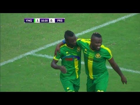 Download Goli la kwanza la yanga 1_ prisons|Morrison akifunga kwa njia ya penalty